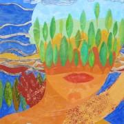 Pilar Estabanell, pilar estabanell pintura en cartón