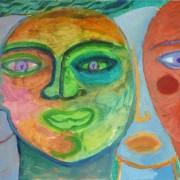 Pilar Estabanell, Pilar estabanell pintura carton 8