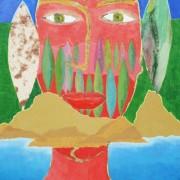Pilar Estabanell, El baño del Piel Roja